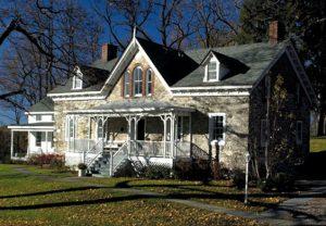 Original Sleight Farm farmhouse in LaGrange NY