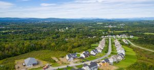 Sweeping view of Sleight Farm new home community in Dutchess County