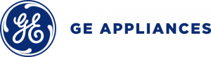 GE Appliances Logo - a custom new home design partner at Sleight Farm in Dutchess County NY