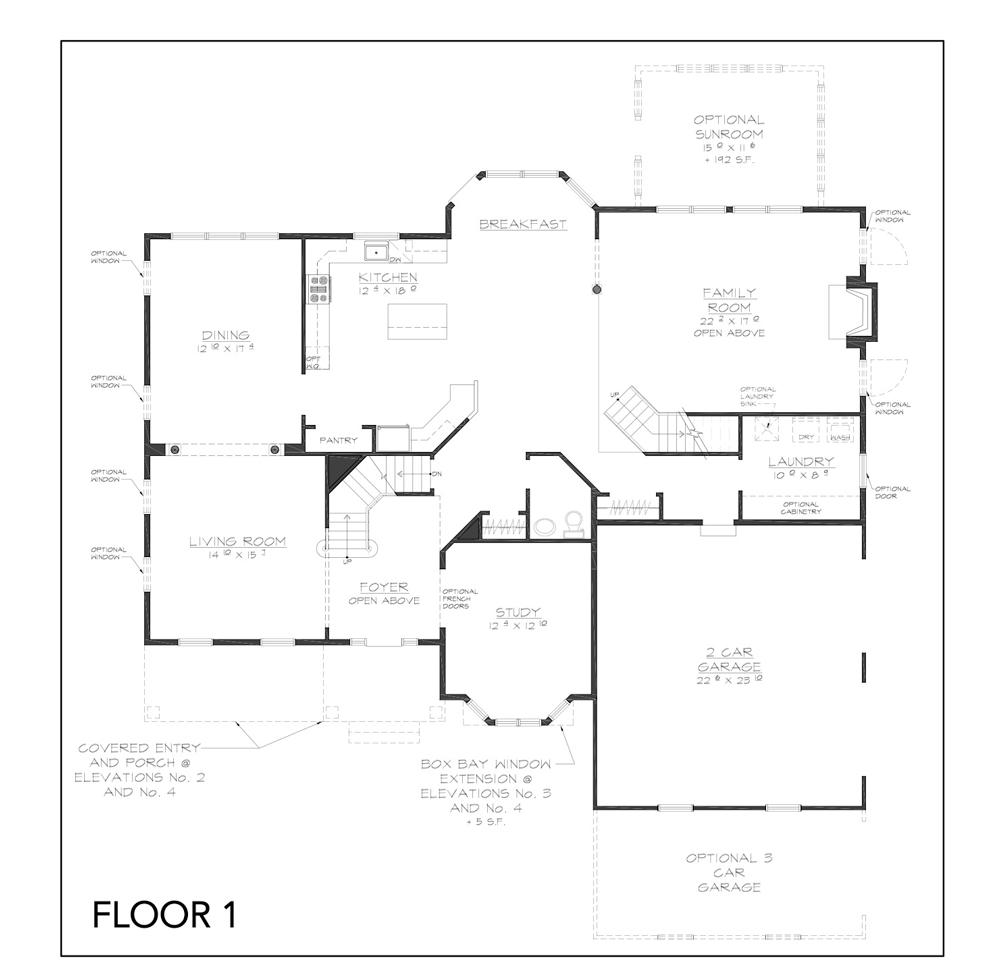 Jackson floor plan floor 1