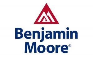 Benjamin Moore Logo - a custom new home design partner at Sleight Farm in Dutchess County NY