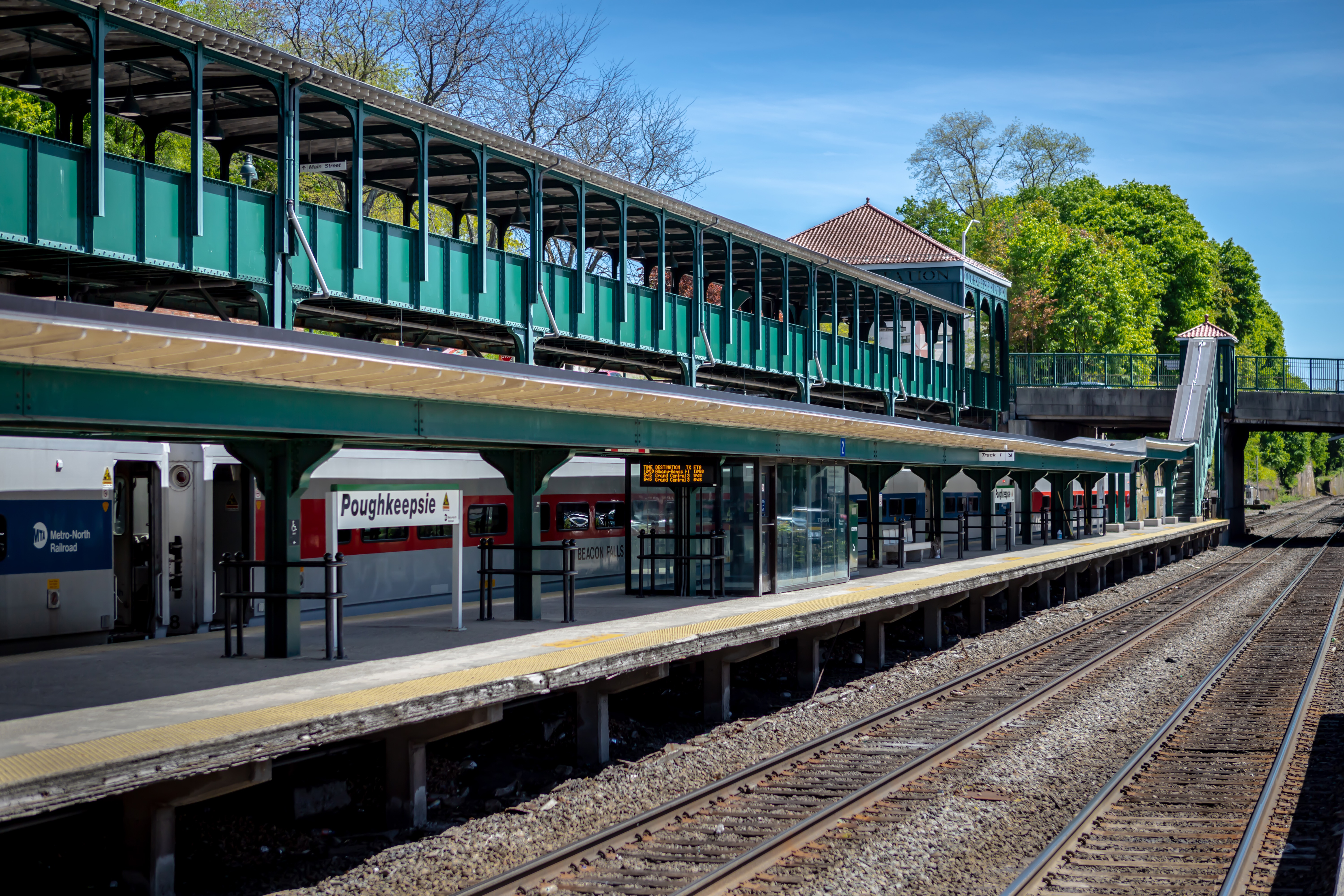 Poughkeepsie Train Station for Amtrak and Metro North, located 10 minutes from our new homes at Sleight Farm at LaGrange