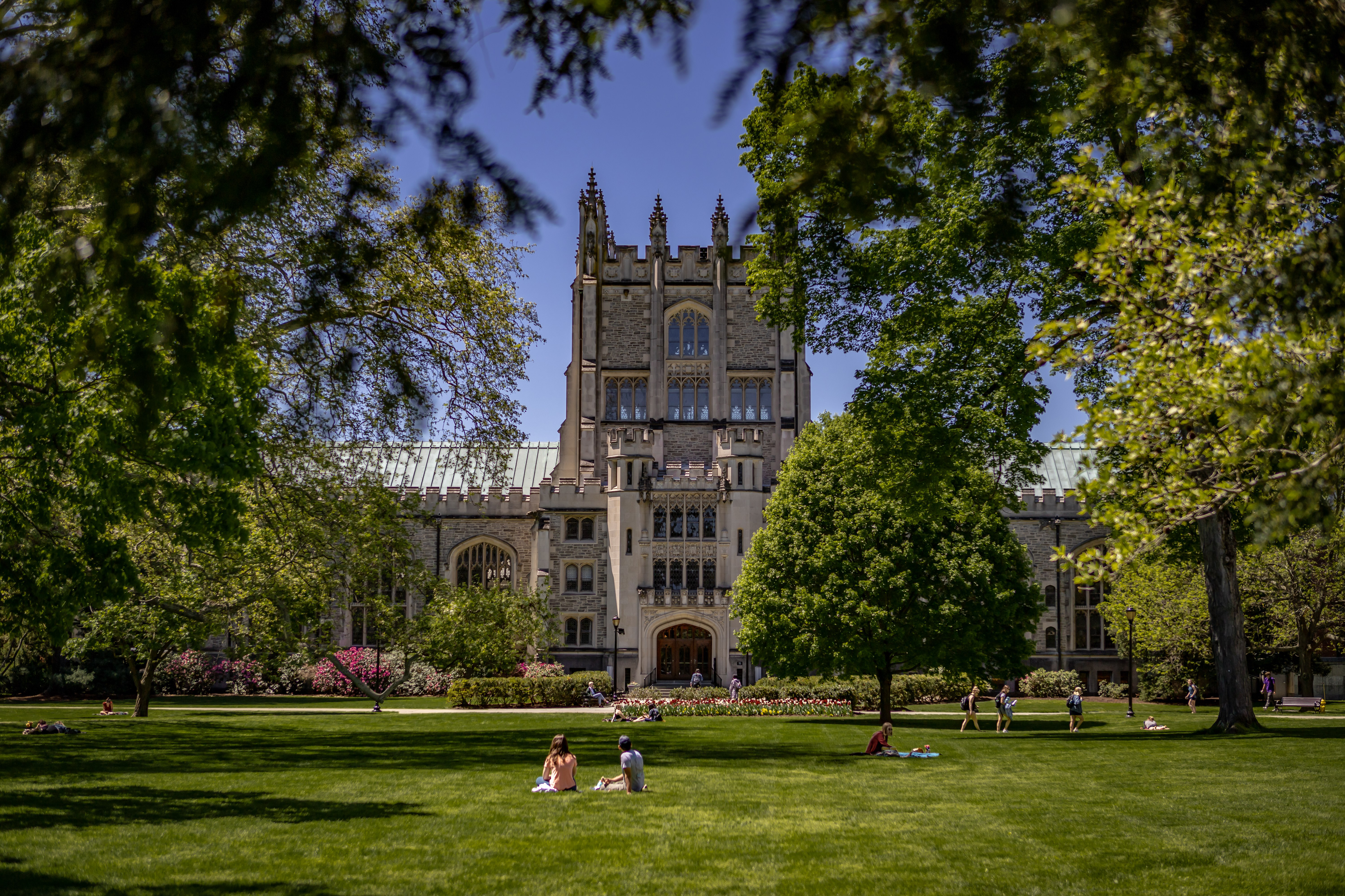 Vassar College in Poughkeepsie NY, located just ten minutes from Sleight Farm at LaGrange
