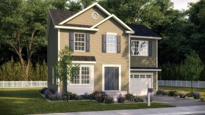 New home model in Upstate New York new construction community The Glens at Sleight Farm in Dutchess County, Hudson Valley