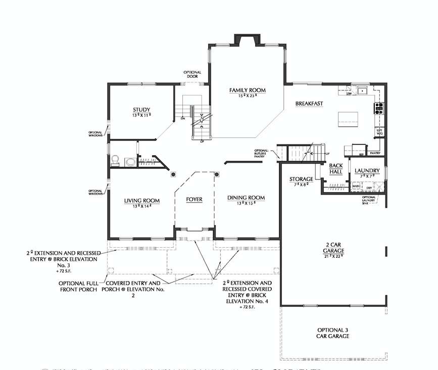 Hudson 4 floorplan 1