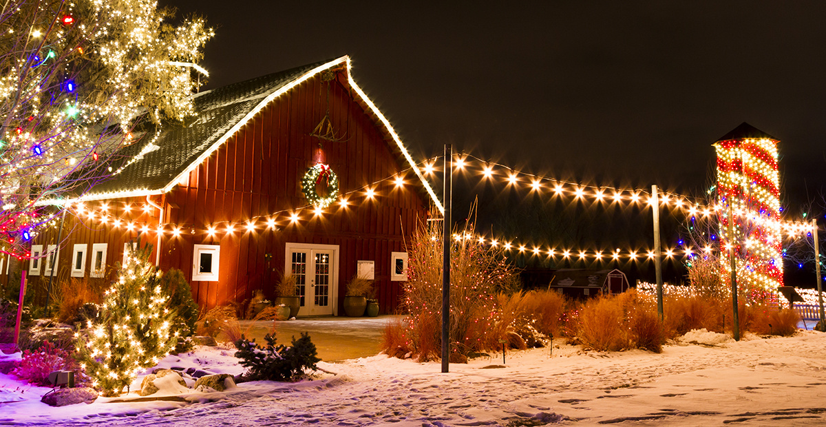 Dutchess County farm decorated for Christmas