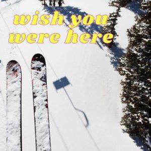 skier on chair lift at Dutchess County ski area