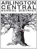 Arlington Central School district logo serves Sleight Farm community of new homes in the Hudson Valley