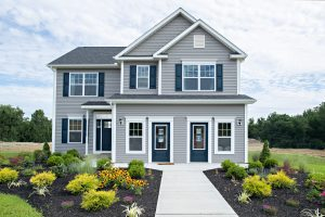 Open model new home in Upstate New York at The Glens, part of Sleight Farm's new home community in the Hudson Valley