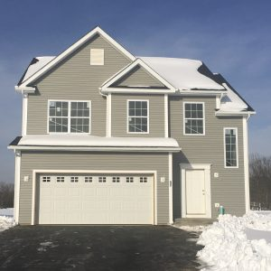 New home Bennet model at The Glens, in Dutchess County, Upstate NY