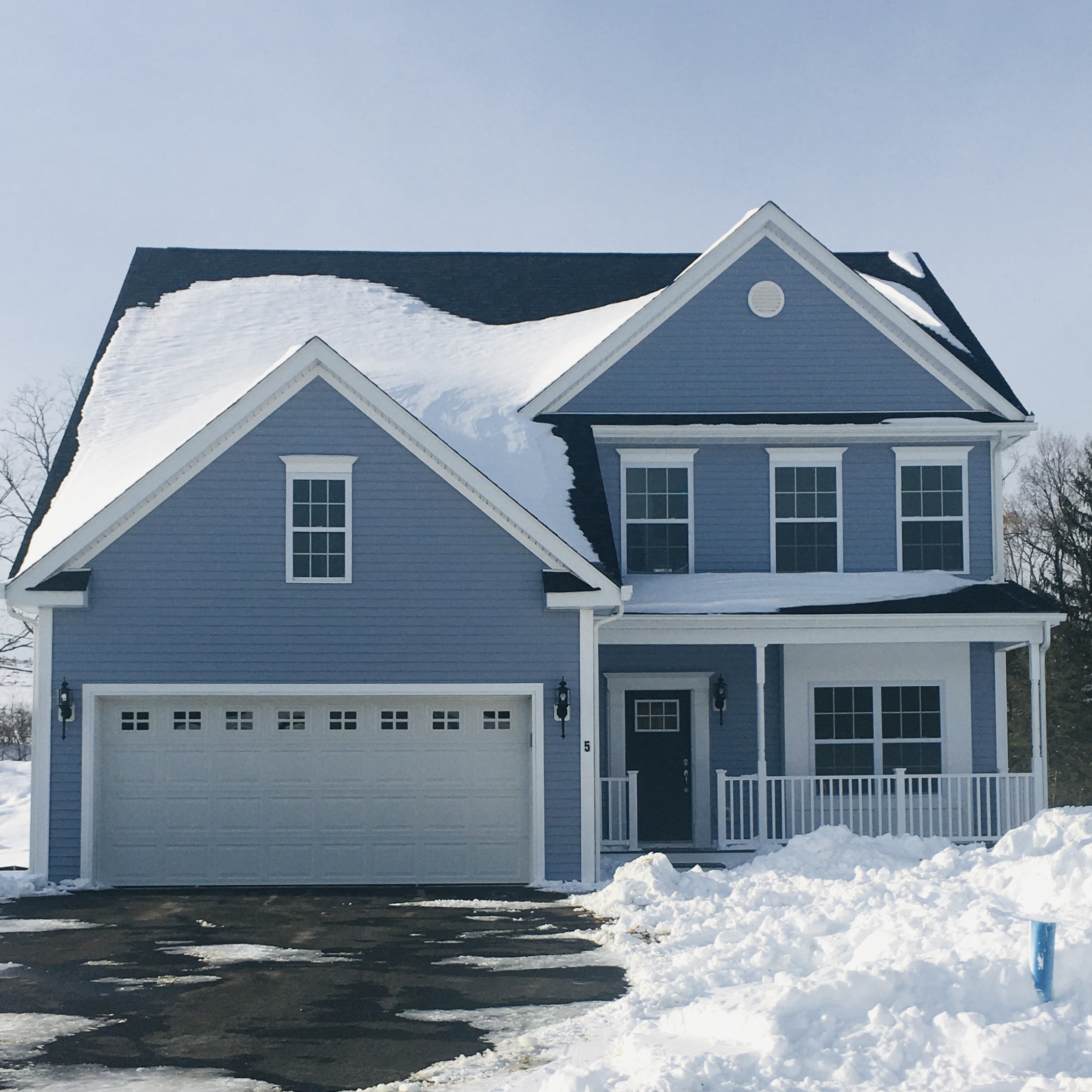 New home The Emerson built at The Glens in Dutchess County, Hudson Valley