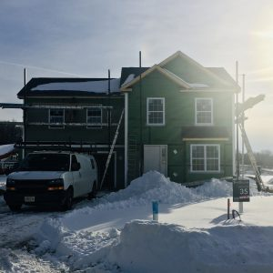 New home under construction at The Glens in the Hudson Valley's Dutchess County