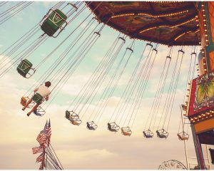 Swing ride at Dutchess County Fair, one of the best summer activities in the Hudson Valley