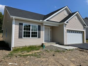 New construction home being built at luxury home community Sleight Farm in Upstate New York's Dutchess County